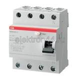 Выключатель дифференциальный УЗО  4P  63А/300мА  тип АC  FH204  ABB