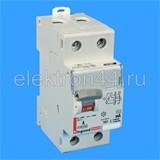 Выключатель дифференциальный УЗО  2P  63А/30мА тип АС  411506  DX3  Legrand
