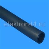 Труба гладкая жесткая ПНД d=20 мм черная Рувинил