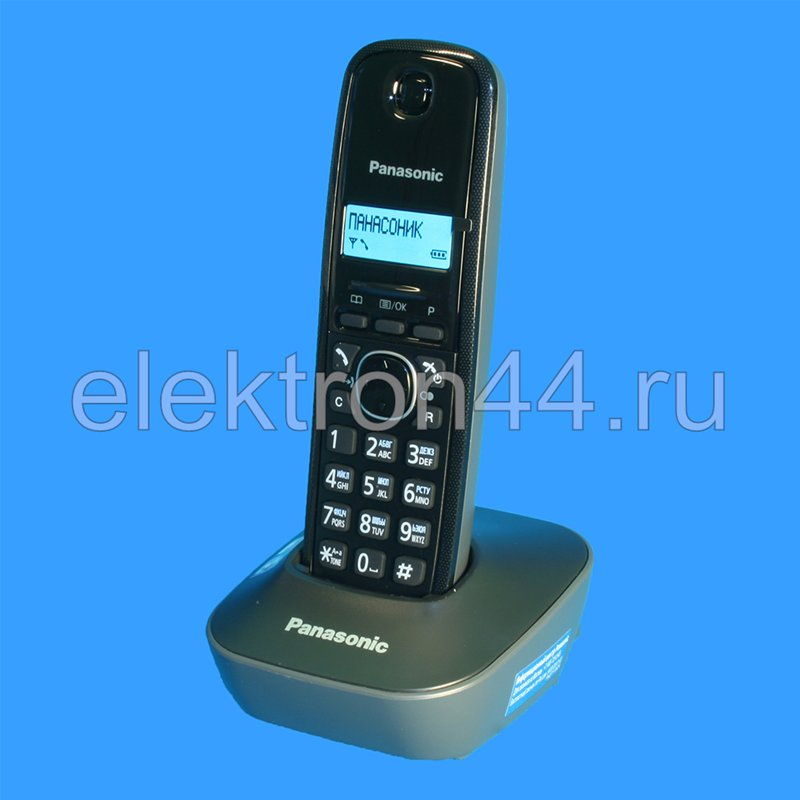 Радиотелефон Panasonic Kx-Tc1200bxb-Инструкция На Русском